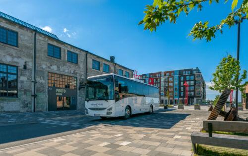 Hansabuss toob Saku-Tallinn liinile uhiuued Iveco Crossway bussid ja taastab liini tavapärase sõidugraafiku alates 17.08