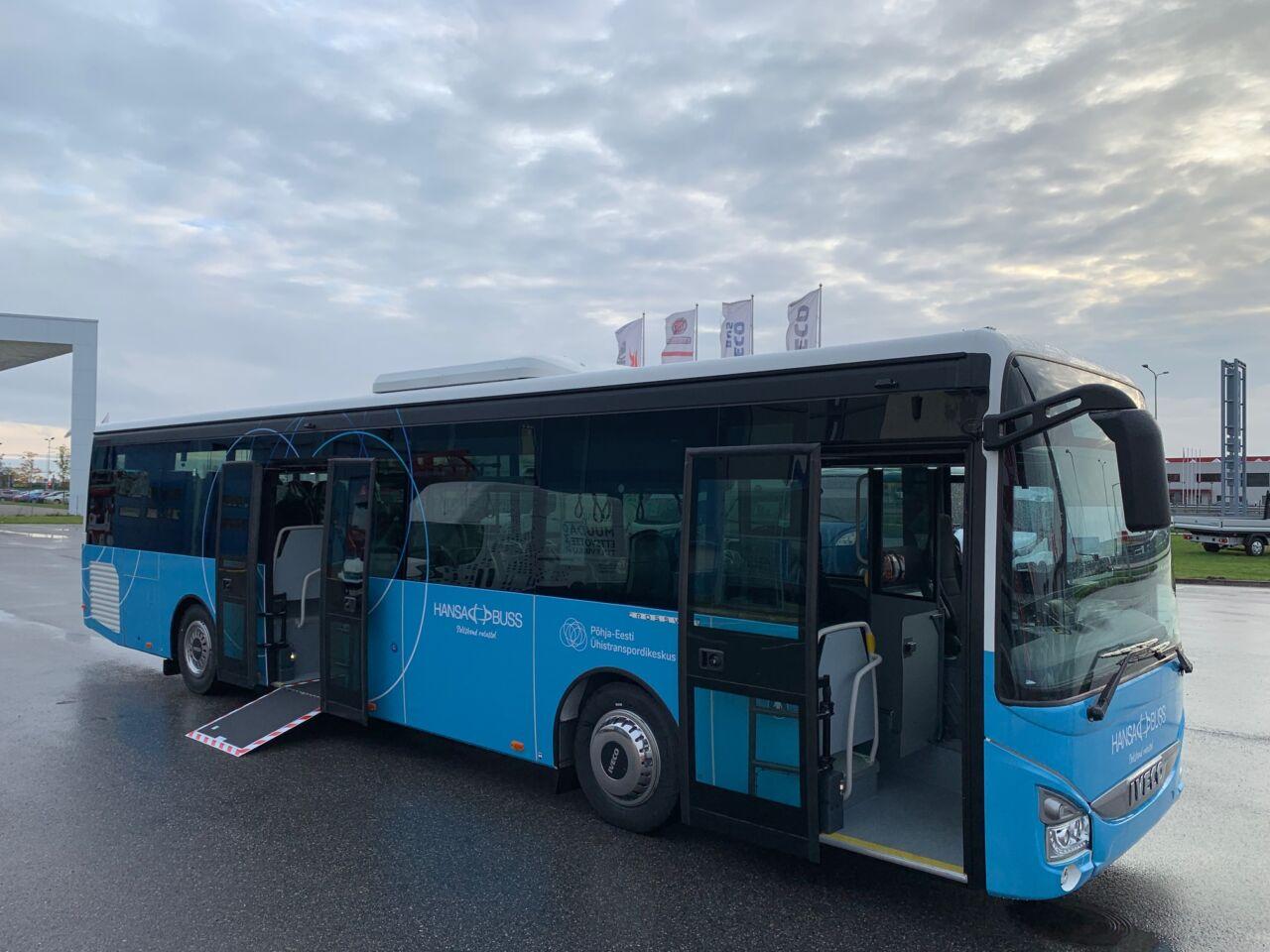Avaliku bussiliiniveo hanke Harju maakonna lääne suunal võitis Hansabuss
